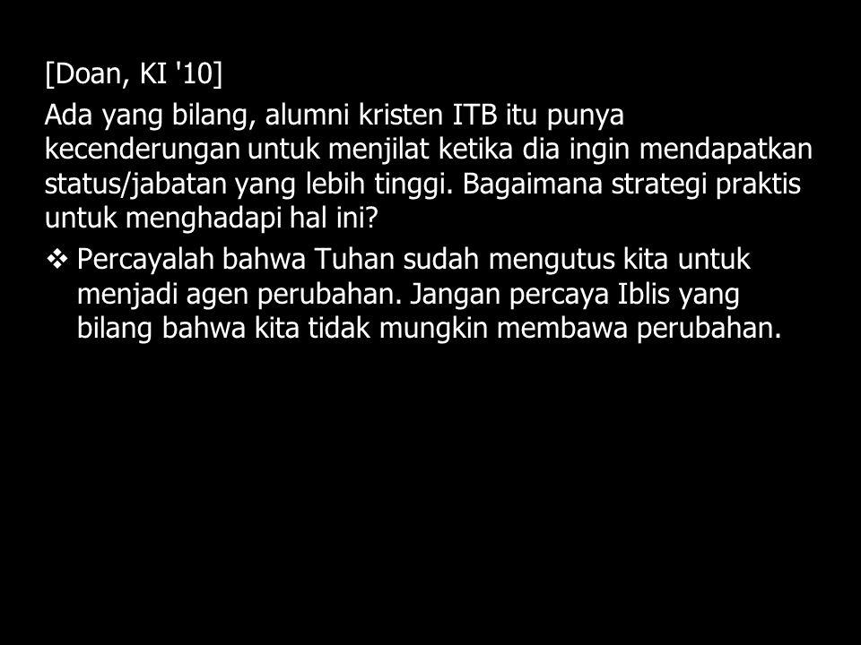 [Doan, KI 10]